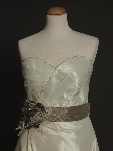 Emilie robe de mariée outlet détail bustier