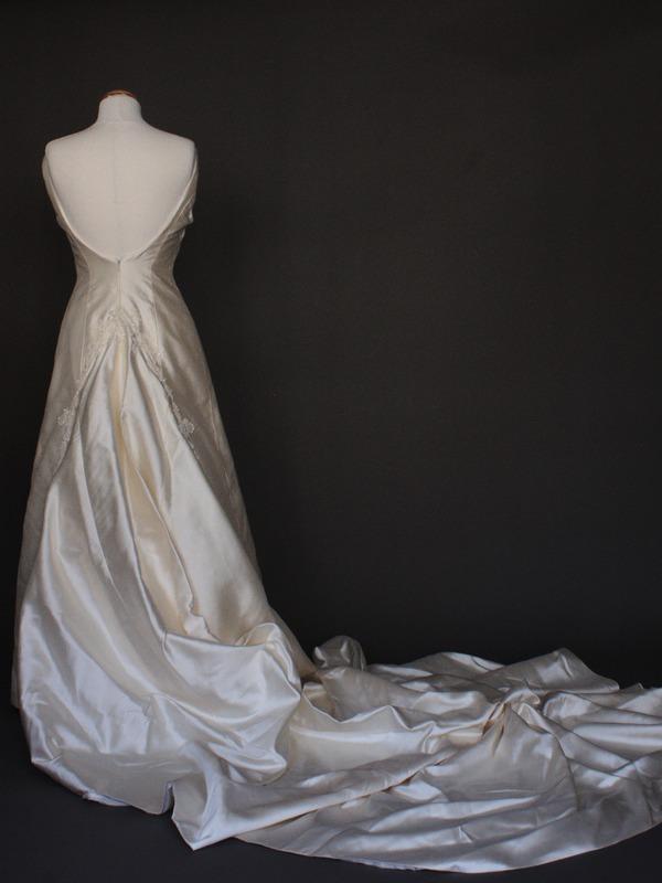 Dalhia robe de mariée d'occasion dos