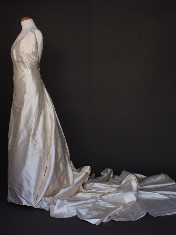 Dalhia robe de mariée d'occasion profil