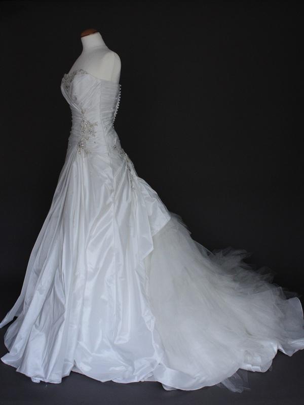 Daria robe de mariée d'occasion profil