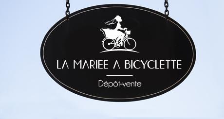 Les robes de la Mariée à Bicyclette