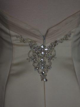 Déborah robe de mariée d'occasion détail dos