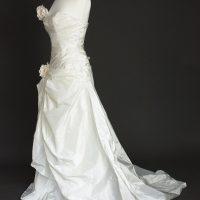 Léonore robe de mariée d'occasion profil