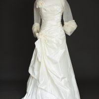 Léonore robe de mariée d'occasion bolero