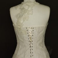 Aurianne robe de mariée d'occasion-détail dos