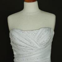 Gill robe de mariée d'occasion bustier