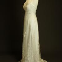 Danaé robe de mariée outlet Véronique Billiet profil