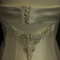 Elisée robe de mariée d'occasion de Pronovias Jolies détail dos