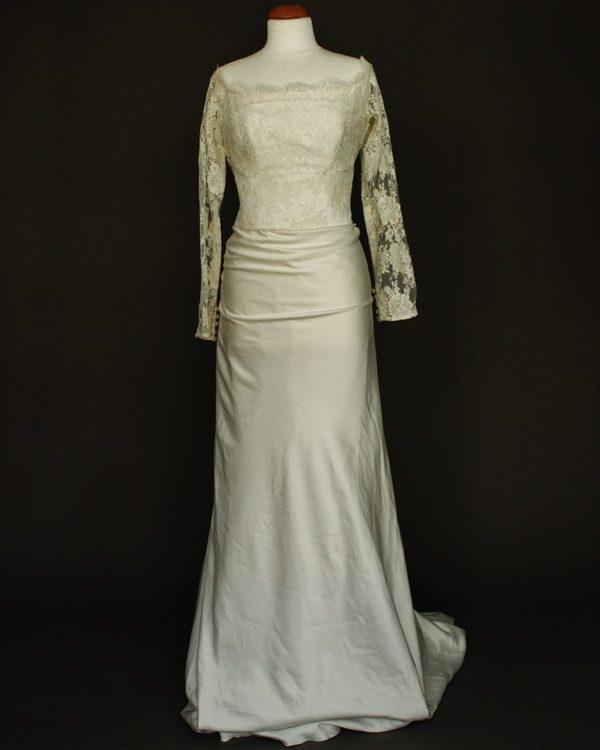 Marguerite la mariée à bicyclette dépôt-vente de robes de mariée