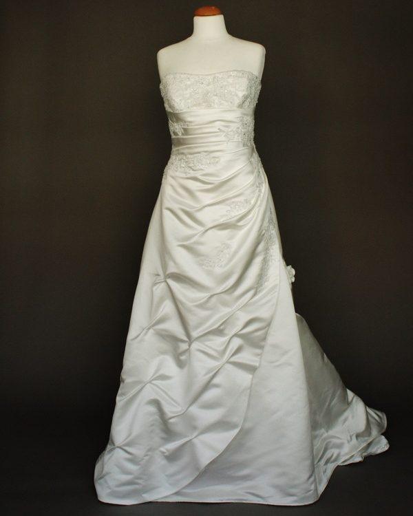 Narcisse-robe de mariée d'occasion