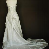 Narcisse robe de mariée d'occasion dos