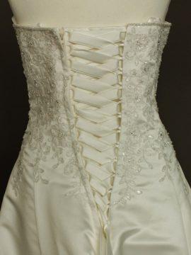 Narcisse robe de mariée d'occasion laçage