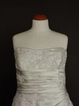Narcisse robe de mariée d'occasion bustier