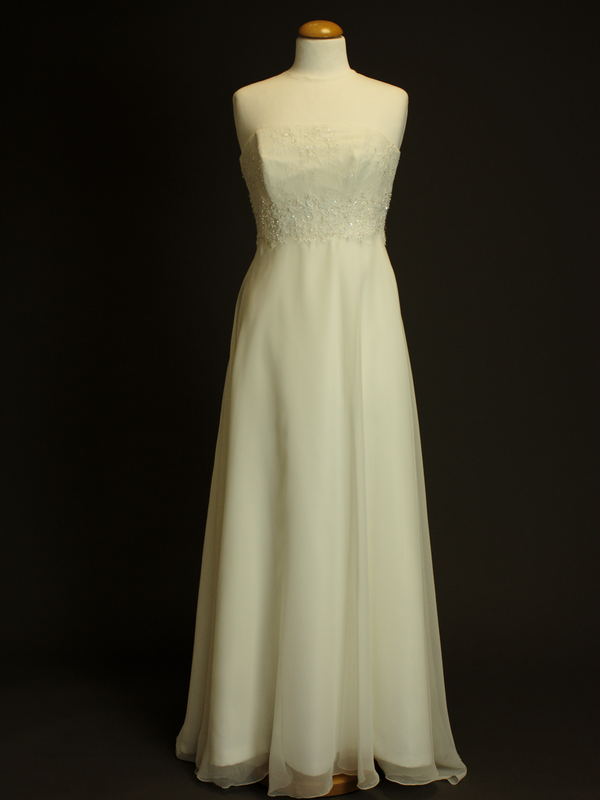 Fleur robe de mariée d'occasion