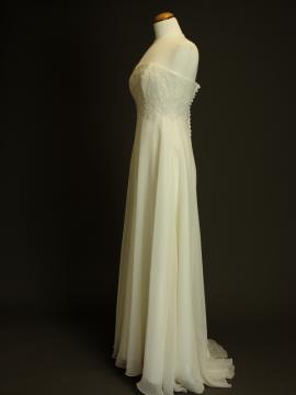 Fleur robe de mariée d'occasion profil