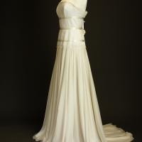 Arsène la mariée à bicyclette robe de mariée outlet Delphine Manivet profil