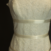 Arsène la mariée à bicyclette robe de mariée outlet Delphine Manivet bustier