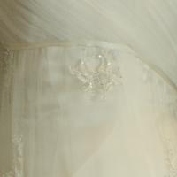 Danaé robe de mariée outlet Véronique Billiet détail