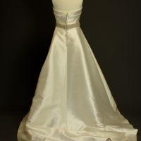 Murielle La Mariée à Bicyclette robe de mariée outlet Rosa Clara dos