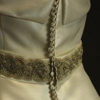 Murielle La Mariée à Bicyclette robe de mariée outlet Rosa Clara ceinture