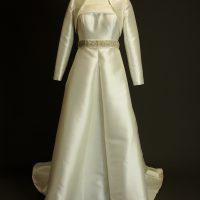 Murielle La Mariée à Bicyclette robe de mariée outlet Rosa Clara avec bolero