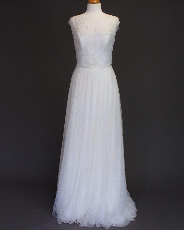 Gabrielle La Mariée à Bicyclette - robe de mariée d'occasion - Jesus Peiro