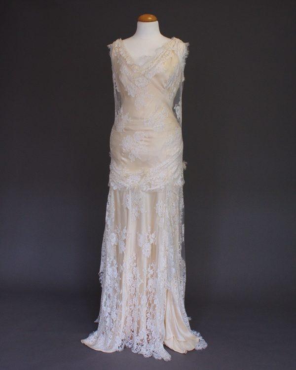 Dorothée La Mariée à Bicyclette - robe de mariée d'occasion - Joanne Fleming