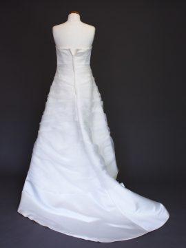 Graziella La Mariée à Bicyclette - robe de mariée d'occasion - Marylise dos