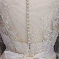 Sissy La Mariée à Bicyclette - robe de mariée d'occasion - Pronovias - Lavens dos