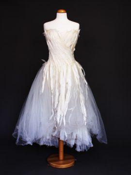 Elise la mariée à bicyclette - robe de mariée occasion - Mieke Cosijn