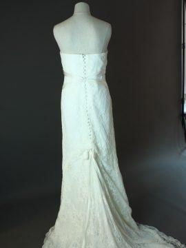 Freya - Lusan Mandogus - dos - la mariée à Bicyclette - robe de mariée occasion