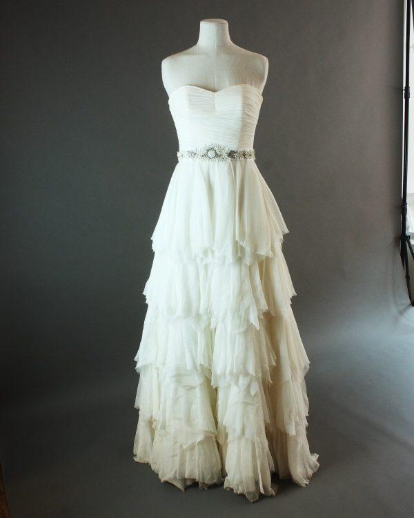 Dolina - Sadoni - la mariée à Bicyclette - robe de mariée d'occasion