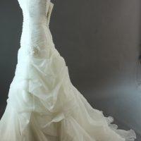 Danéa Pronovias la mariée à Bicyclette profil robe de mariée d'occasion