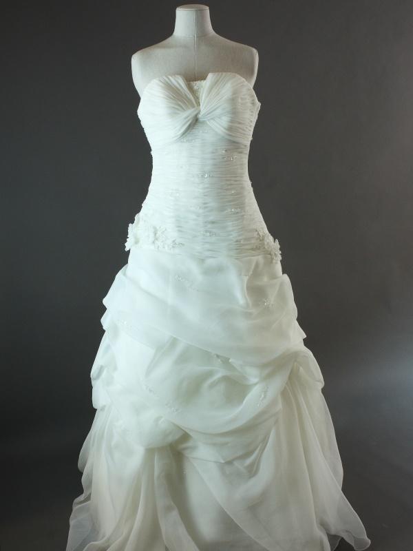 1707-36-003- Danéa – Pronovias – la mariée à Bicyclette – robe de mariée d'occasion