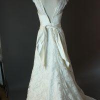 Erika - Charline Verbeeken- la mariée à Bicyclette - robe de mariée occasion - dos