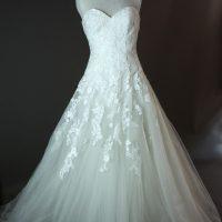 Frederique - Pronovias - devant - la mariée à Bicyclette - robe de mariée occasion