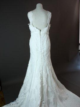 Lionera - Allure -la mariée à Bicyclette - robe de mariée occasion dos