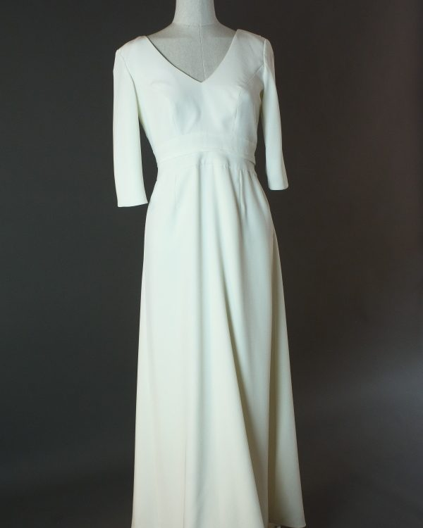 Elinor - Ypsilon - devant - la mariée à Bicyclette - robe de mariée outlet