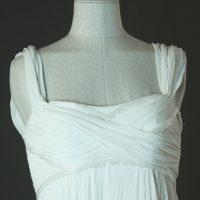 Eleonore - Cymbeline - detail devant - la mariée à Bicyclette - robe de mariée occasion