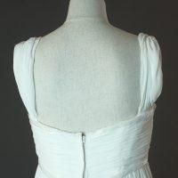 Eleonore - Cymbeline - la mariée à Bicyclette - robe de mariée occasion détail du dos