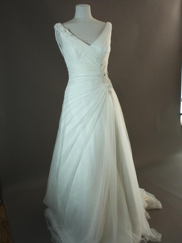 Douce - Marylise - devant - la mariée à Bicyclette - robe de mariée occasion