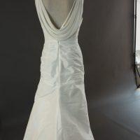 Eleane - Linea Raffaelli - dos - la mariée à Bicyclette - robe de mariée occasion
