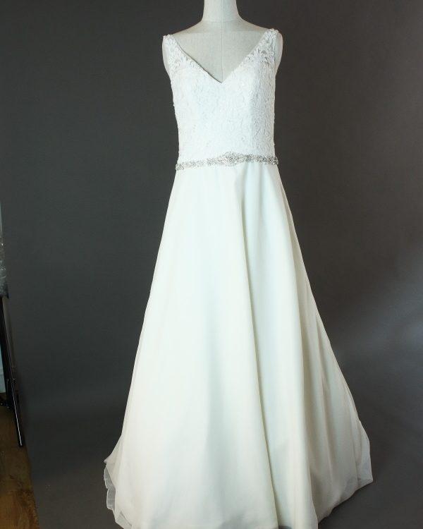 Ellora - Morilee - devant - la mariée à Bicyclette - robe de mariée occasion