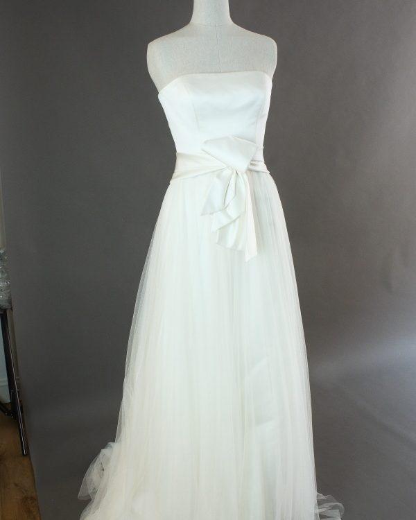 Fausta - Jesus Peiro - la mariée à Bicyclette - robe de mariée occasion - détail du dos