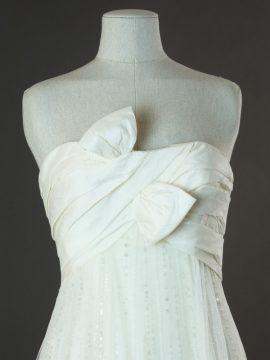 Emmaëlle - Enzoani - la mariée à Bicyclette - robe de mariée occasion - détail du bustier