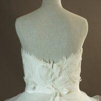 Geneva - Pronovias - dos - la mariée à Bicyclette - robe de mariée occasion détail du dos