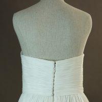 Fanny - La Sopsa - detail dos - la mariée à Bicyclette - robe de mariée occasion