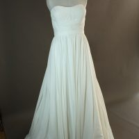 Fanny - La Sopsa - devant - la mariée à Bicyclette - robe de mariée occasion