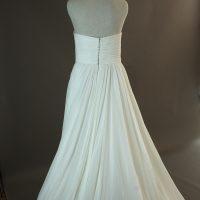 Fanny - La Sopsa - dos - la mariée à Bicyclette - robe de mariée occasion