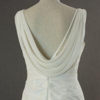 Lou - Linea Raffaelli - detail dos - la mariée à Bicyclette - robe de mariée occasion